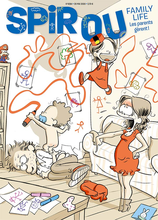 Le journal Spirou n°4284