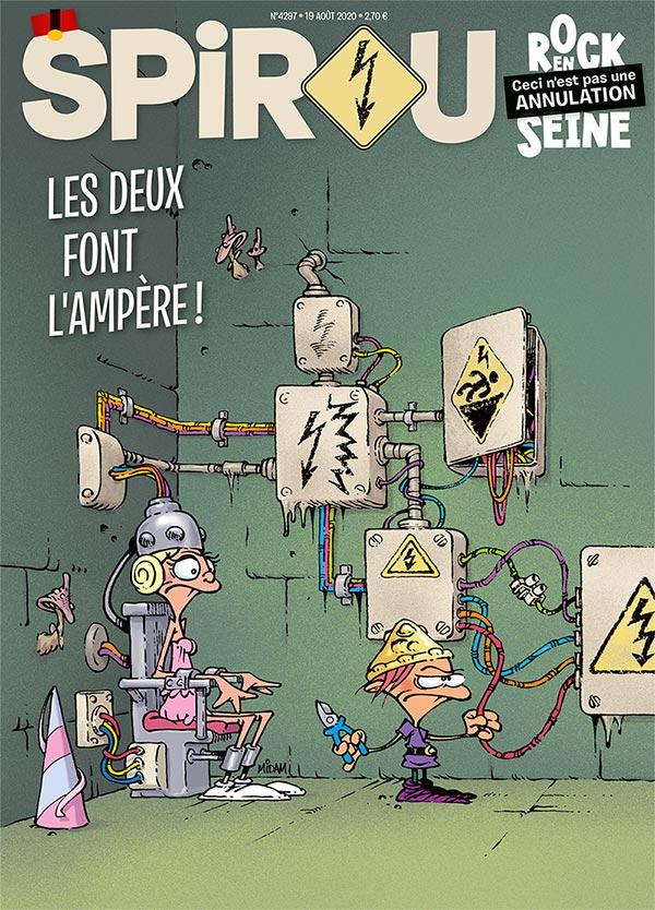 Le journal Spirou n°4297