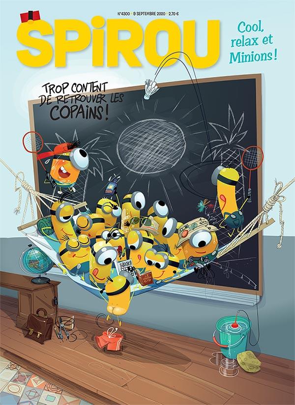 Le journal Spirou n°4300