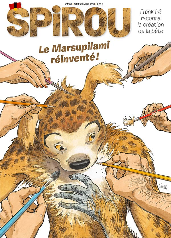 Le journal Spirou n°4303