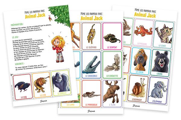 «Animal Jack, tome 3» : Jouez au jeu de mimes!