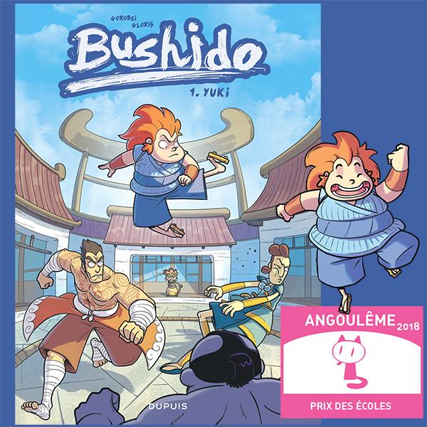 Bushido, prix des écoles à Angoulême