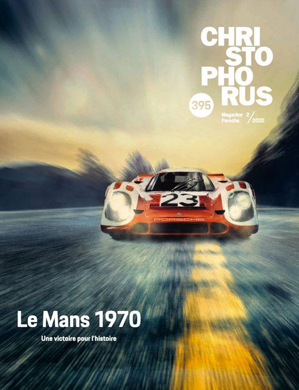 Article sur Michel Vaillant dans la revue Christophorus de Porsche