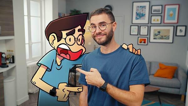 Roger et ses Humains: de la BD à la Web-série
