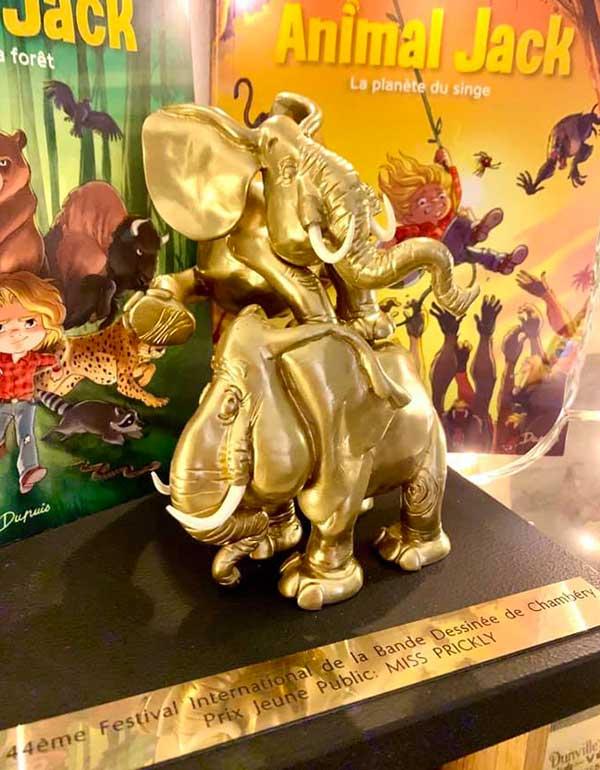 Eléphants d'Or de Chambéry : les lauréats