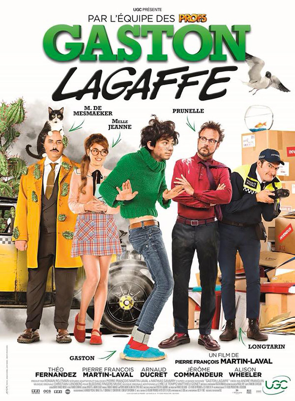 Affiche du film Gaston Lagaffe