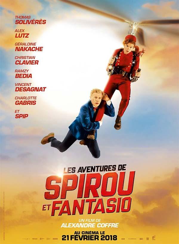 Les Aventures de Spirou et Fantasio, la bande-annonce du film!