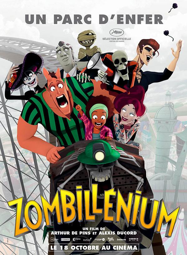 L'affiche du film Zombillénium !