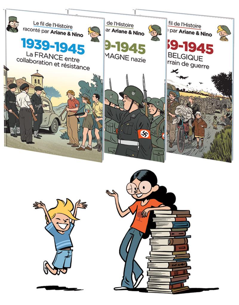 Gagnez les nouveaux tomes du Fil de l'Histoire raconté par Ariane & Nino