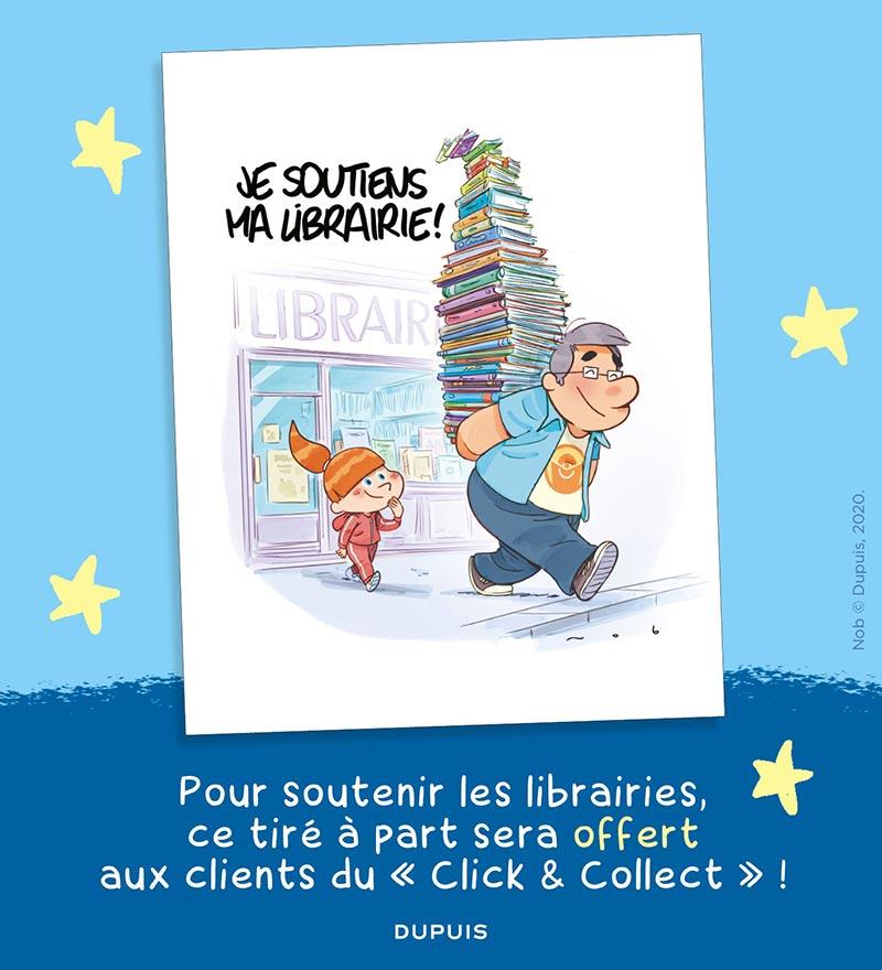 Les éditions Dupuis soutiennent les librairies                                                                                                                      !