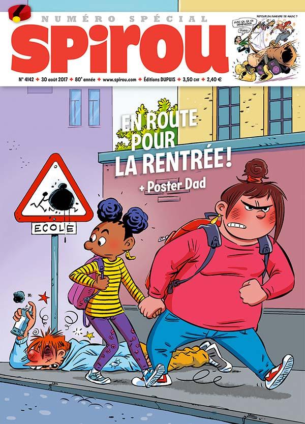 Le Journal Spirou n°4142
