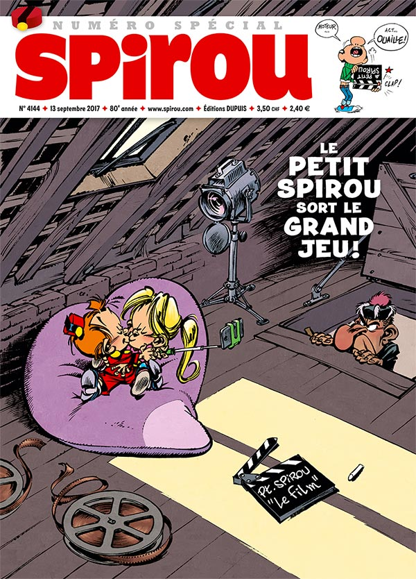 Le Journal Spirou n°4144