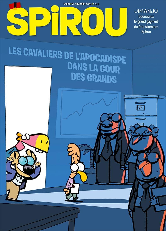 Le journal Spirou n°4311