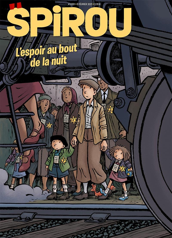 Le journal Spirou n°4321