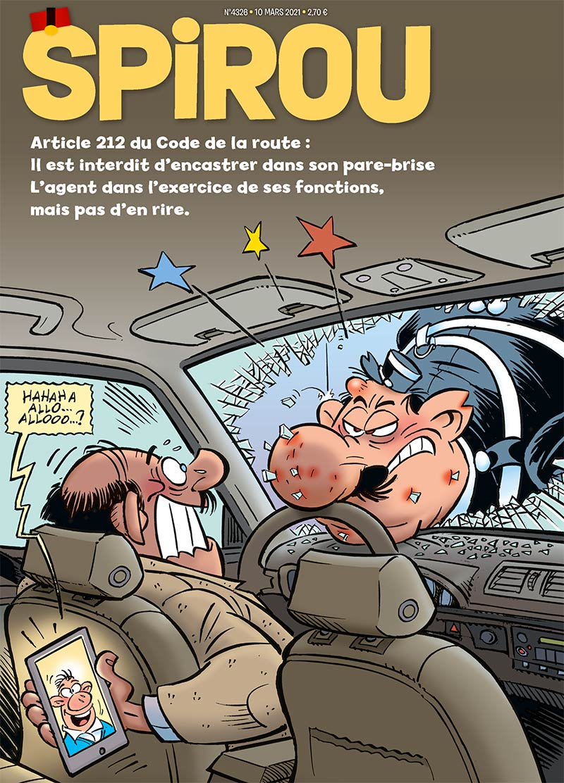 Le journal Spirou n°4326