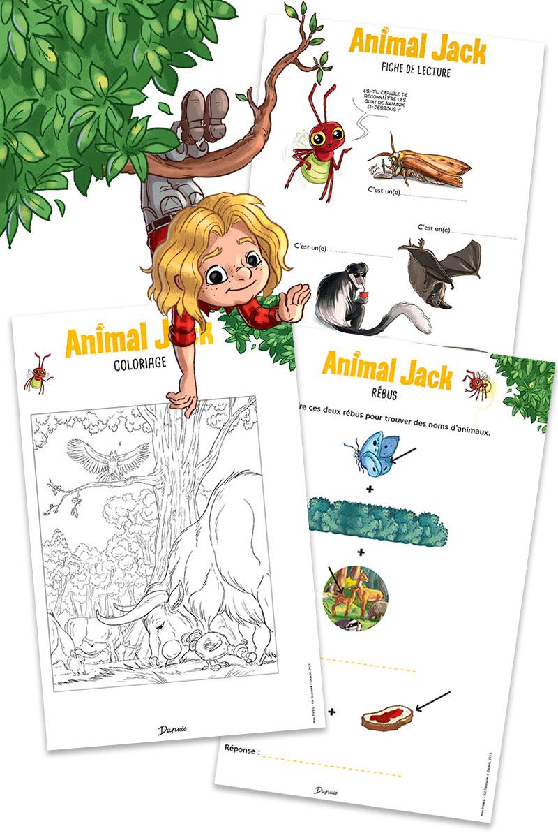Animal Jack: Jeux et activités