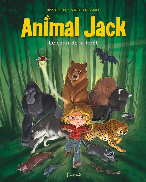 Animal Jack: Une nouvelle série fantastique qui fait rire et réfléchir!