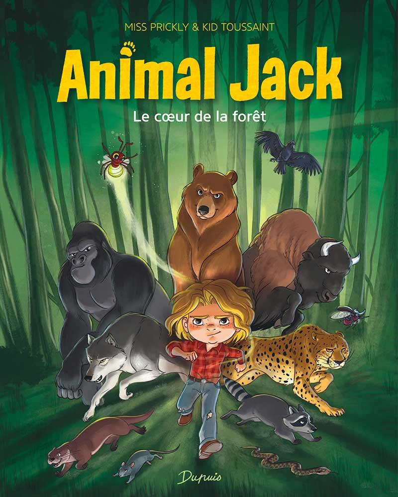 Lisez gratuitement le tome 1 de la série jeunesse Animal Jack!