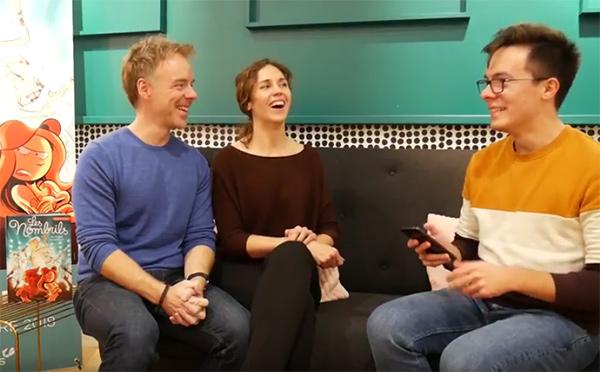 Interview de Delaf et Dubuc par le booktubeur Nathan