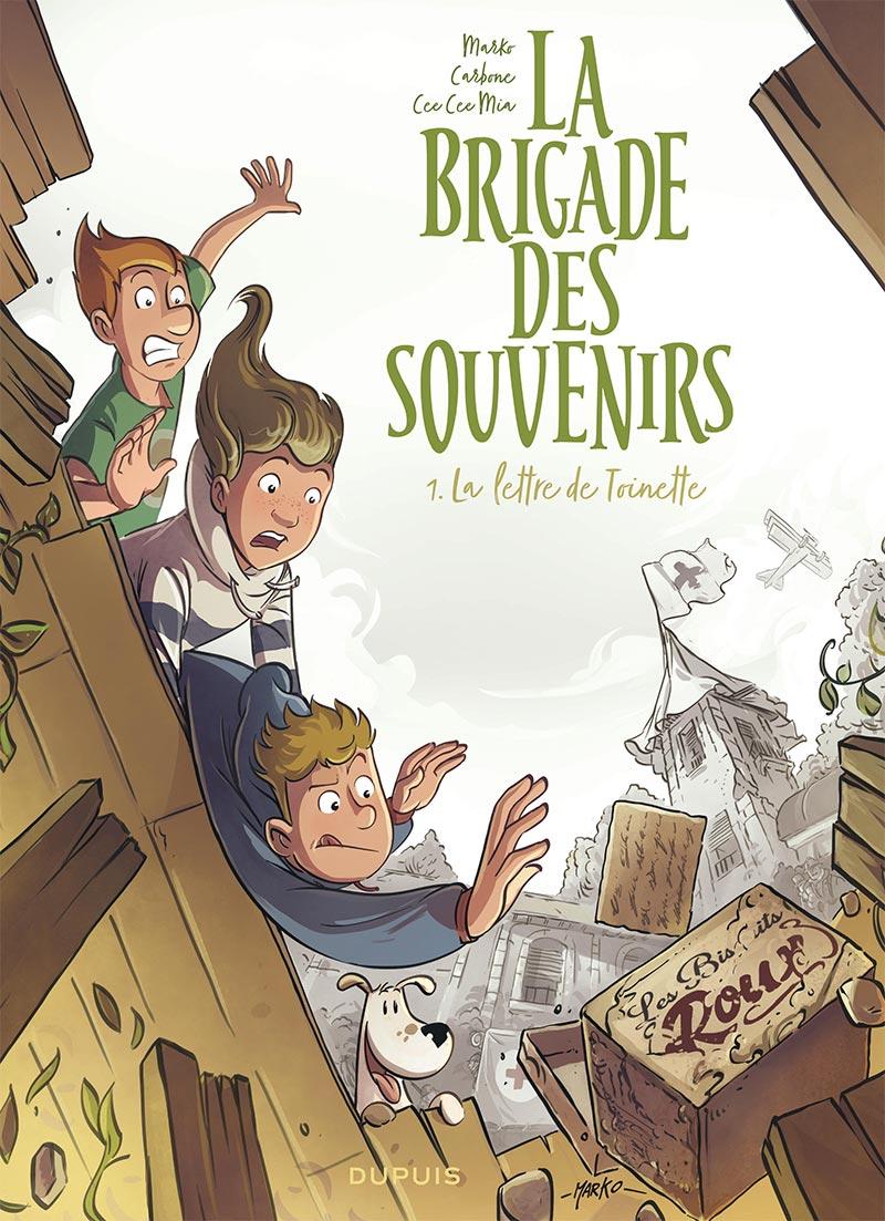 La brigade des souvenirs, tome 1: 15 pages en découverte