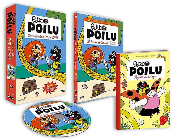 Coffret DVD Petit Poilu inédit