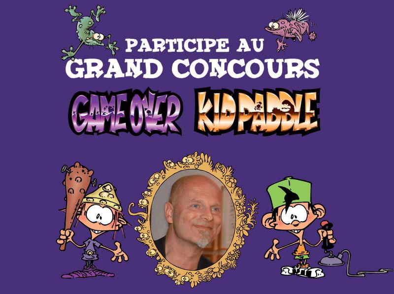 Participez au grand concours Game Over/ Kid Paddle