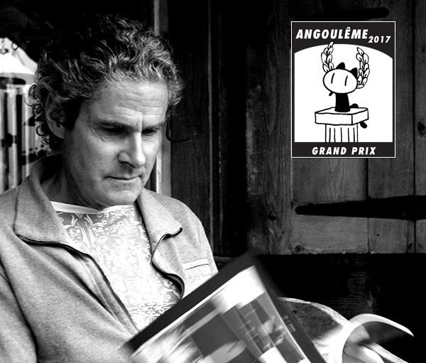 Cosey élu Grand Prix du Festival d'Angoulême 2017!