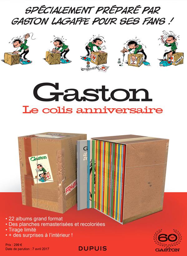 Gaston, le colis anniversaire des 60 ans!