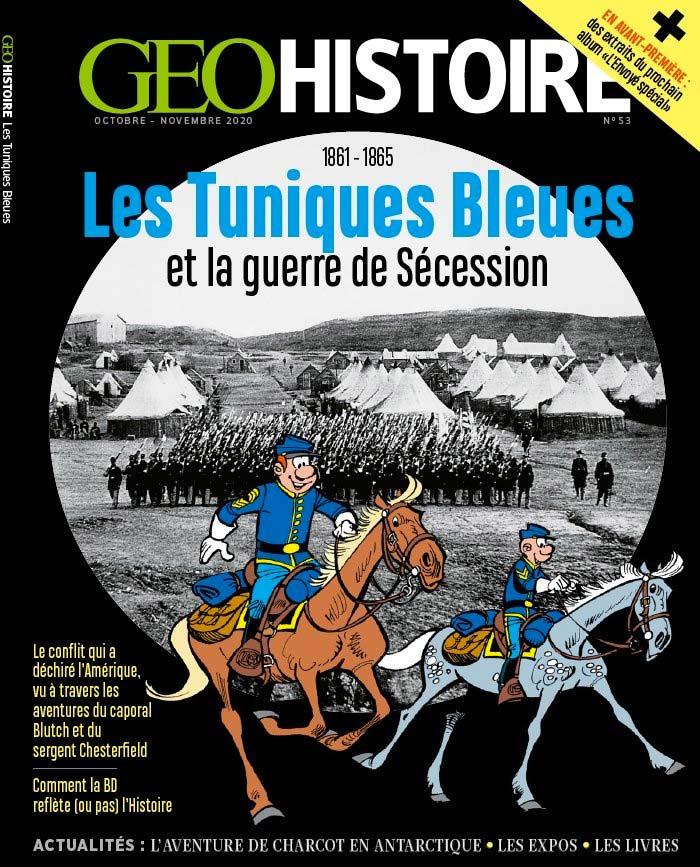 Hors-Série GEOHISTOIRE Les Tuniques Bleues