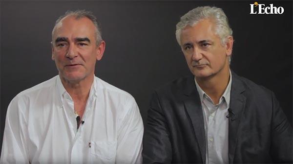 Interview de Francq et Giacometti par L'Écho