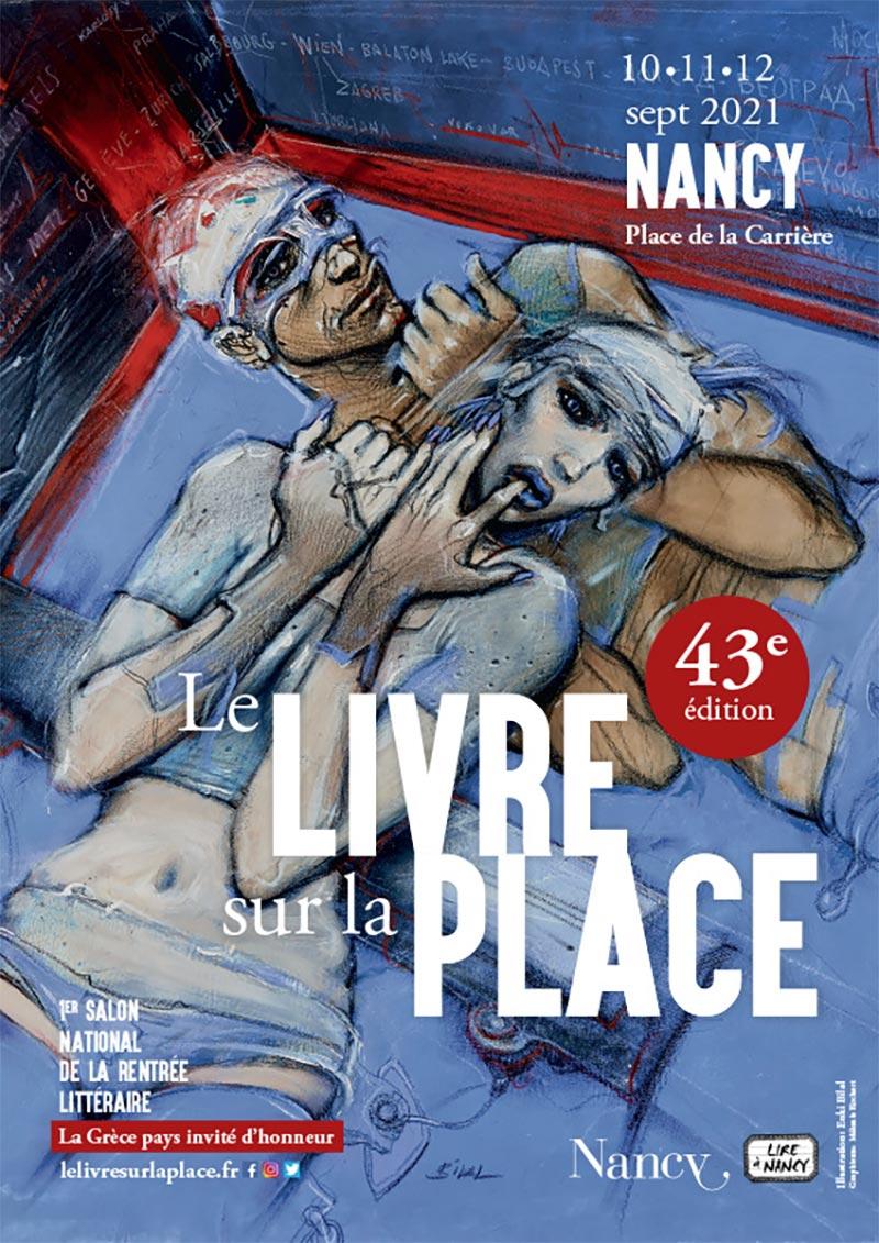 Festival du Livre de la place de Nancy