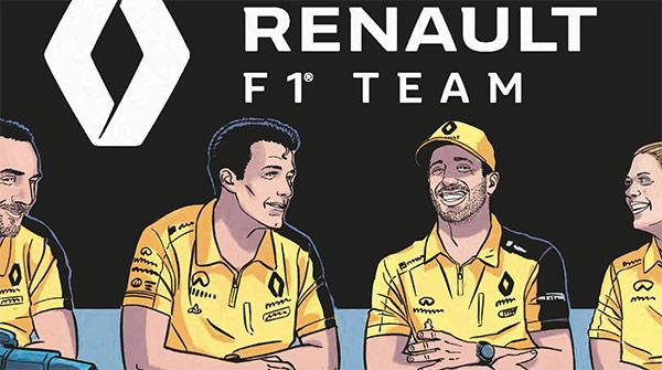 Michel Vaillant- Grand Prix de France 2019: un partenariat de légende