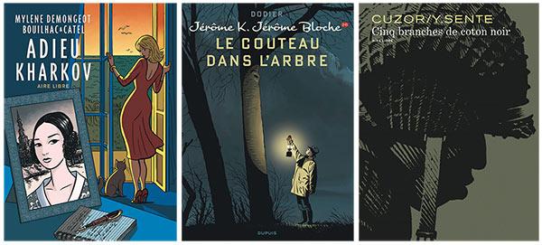 Catel, J.K.J. Bloche et Cinq branches de coton noir récompensés!