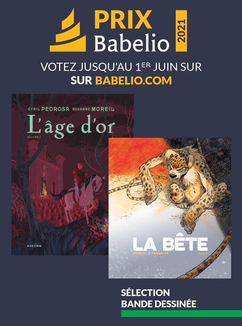 Votez pour L'âge d'or et «La Bête»!