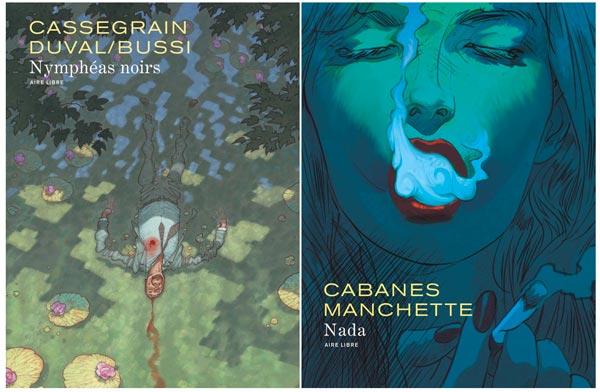 Deux titres Aire Libre en lice pour le Prix BD Polar!