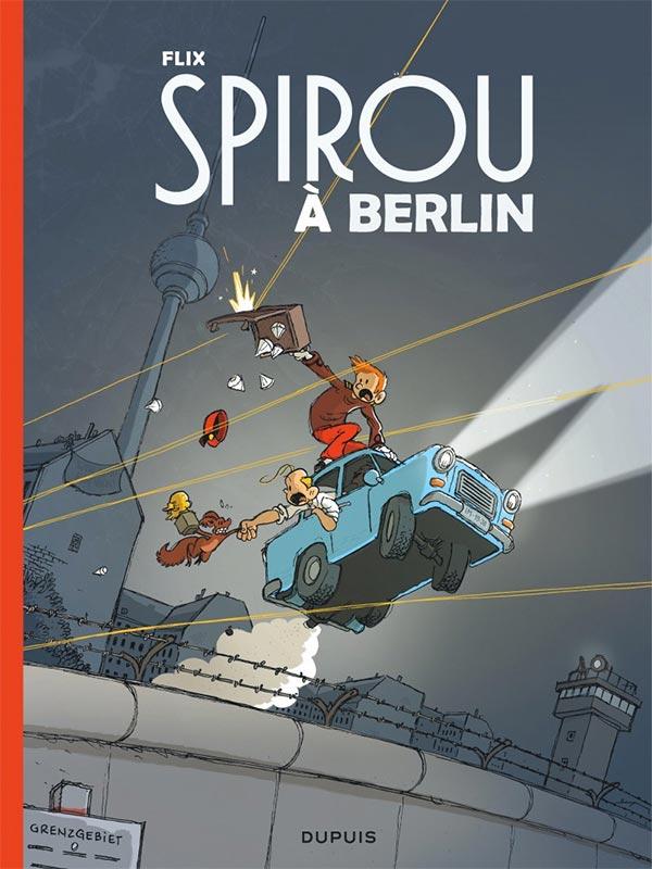 Flix à propos de son Spirou à Berlin