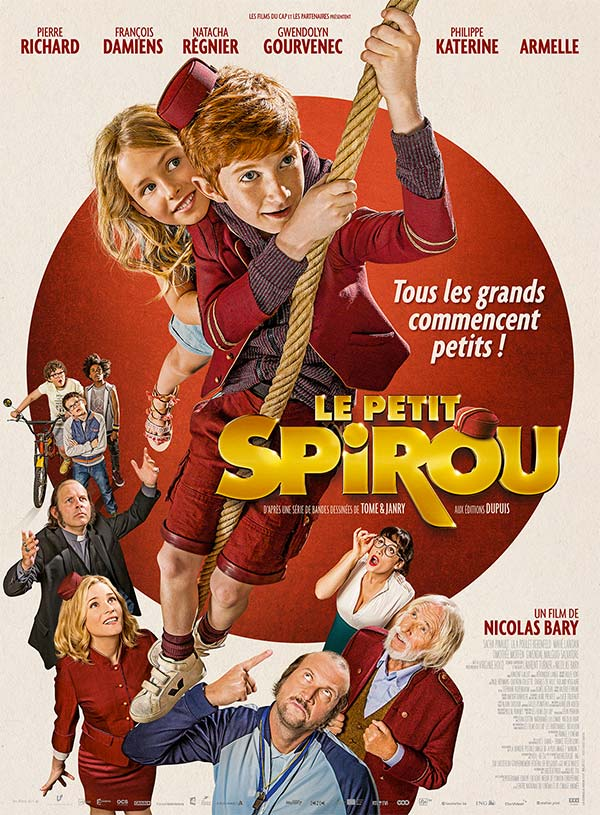 Prêts pour l'aventure ? Le Petit Spirou vous dévoile son affiche !