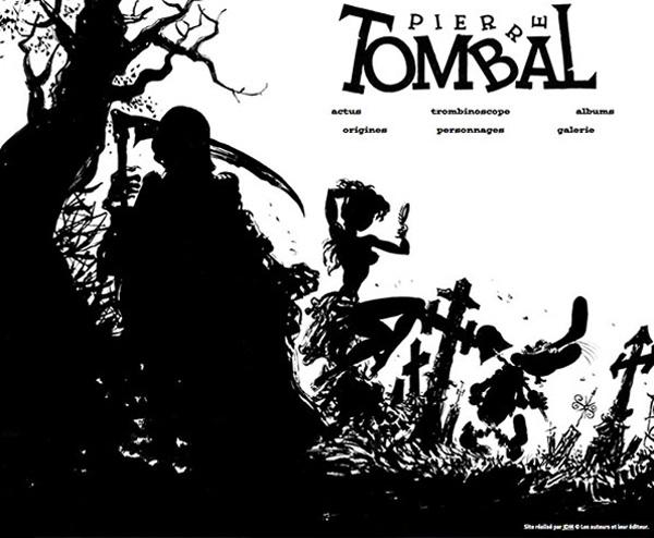 Pierre Tombal est sacrément branché !