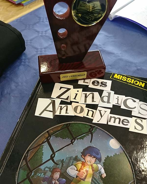 Les Zindics Anonymes récompensé!
