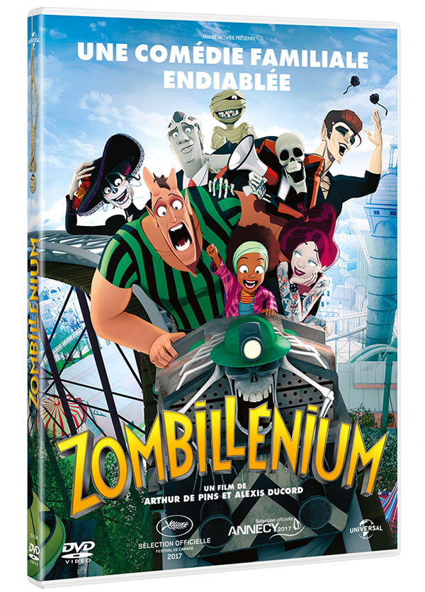 «Zombillénium», le film nommé aux César