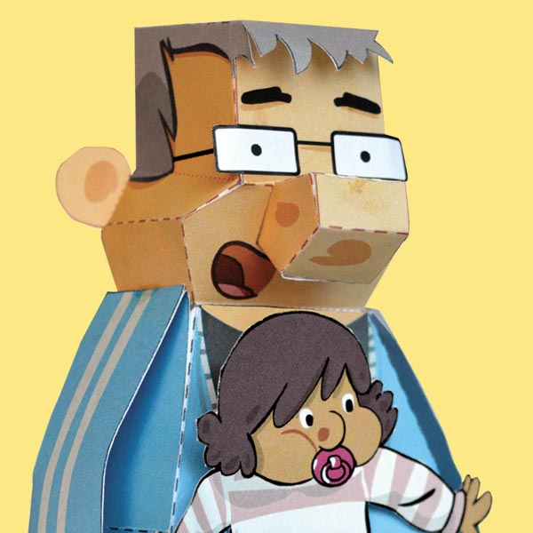 Papertoy Dad